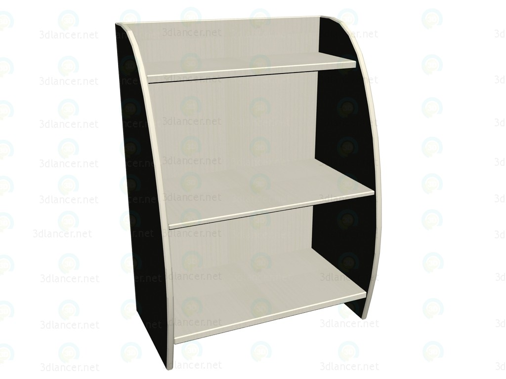modelo 3D Estante de pared LK-303 - escuchar