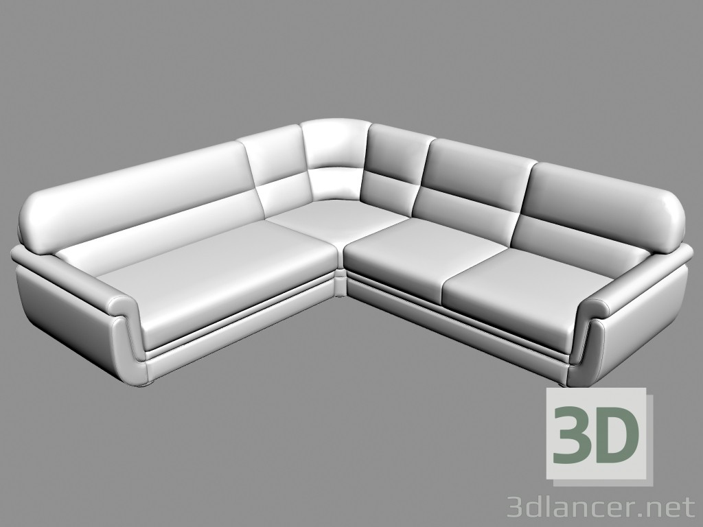 3d model Sofa corner Ortey (Variant 2) - preview