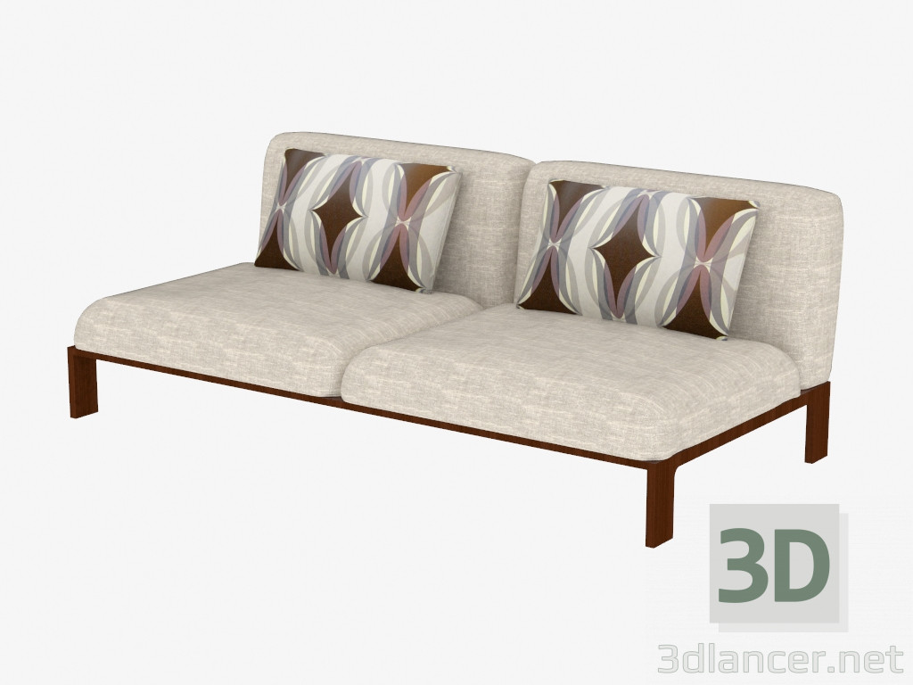 Modelo 3d sof cama matrimonial del fabricante moroso for Sofa cama matrimonial