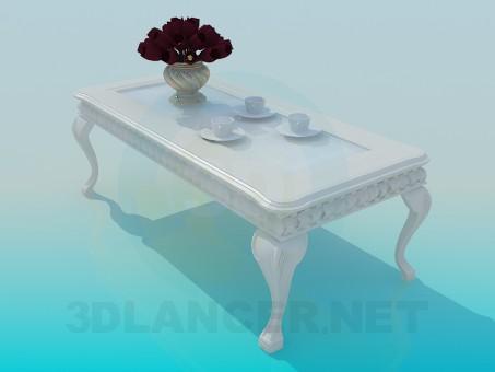 3d model Antique table - preview