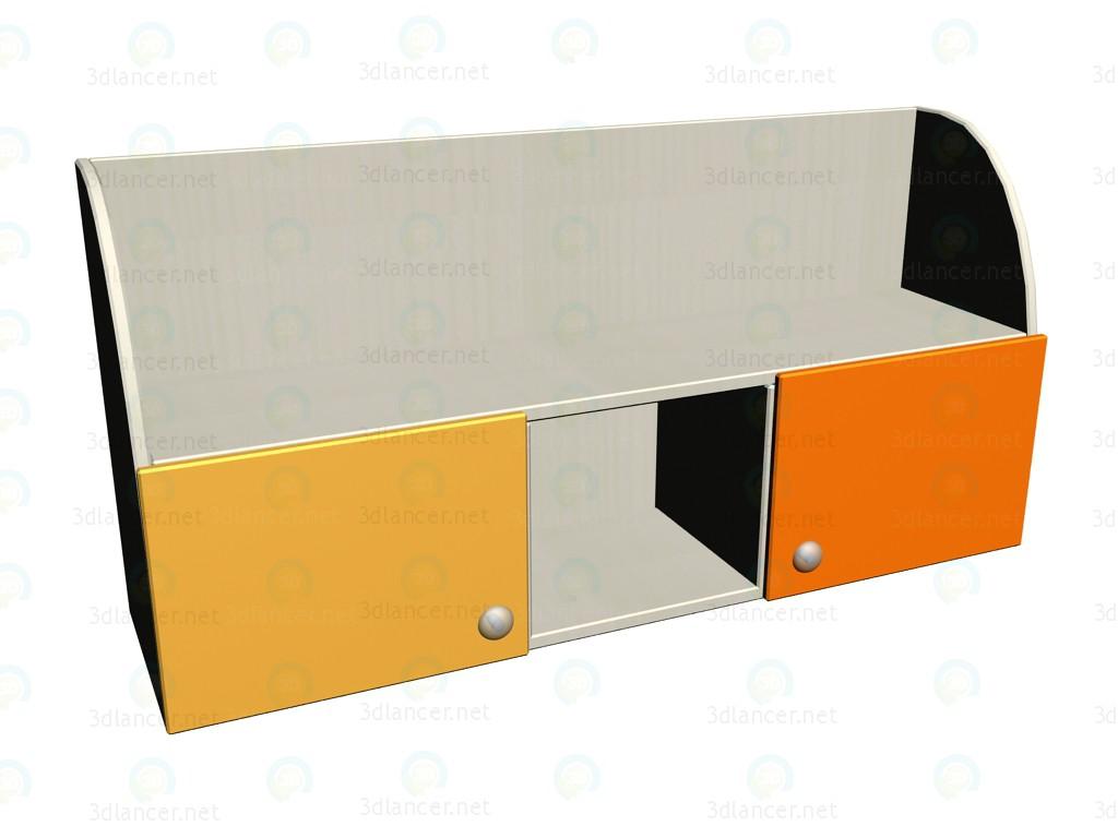3d моделирование Полка навесная ЛК-306 модель скачать бесплатно