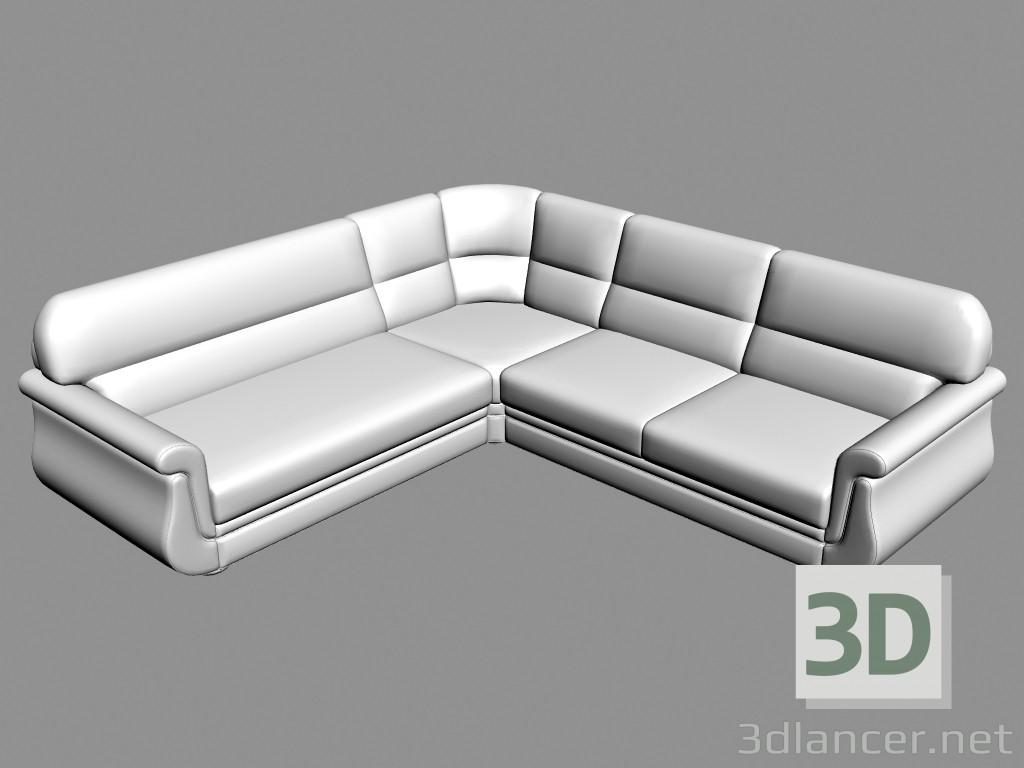 3d model Sofa corner Ortey (option PREVIEWNUM#