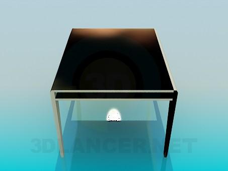 3d модель Стол в столовую – превью
