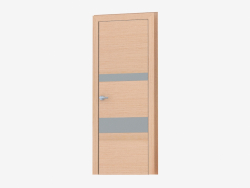 Interroom door (31.31 silver mat)