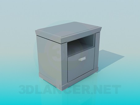 3d model Bedside Table - preview