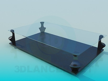 3d model Interesting coffee table - preview