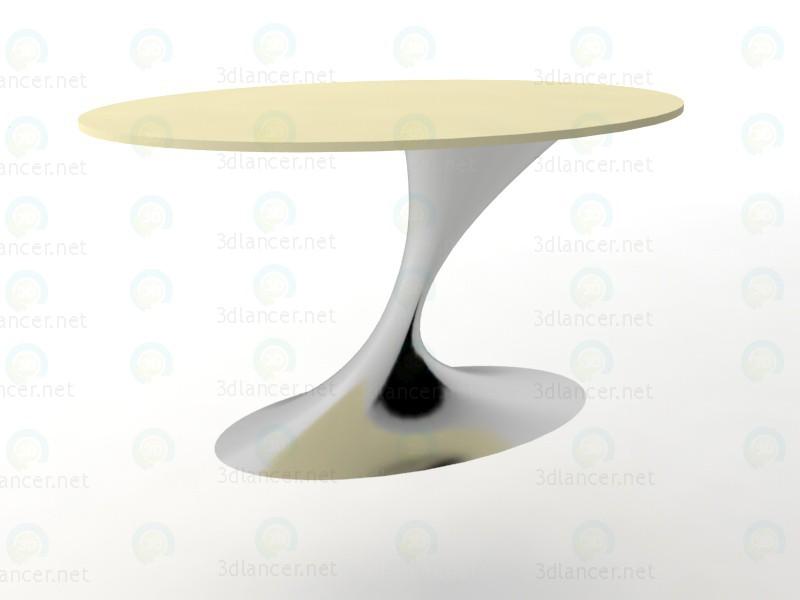 3d Restaurant table model buy - render