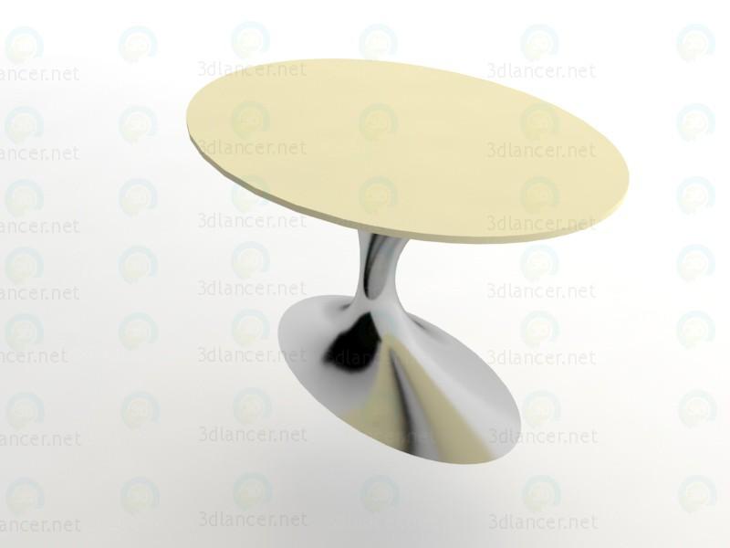 mesa de restaurante 3D modelo Compro - render