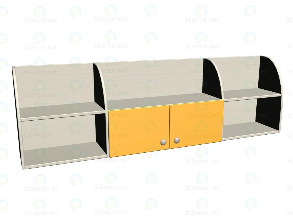 modelo 3D Estante de pared LK-308 - escuchar