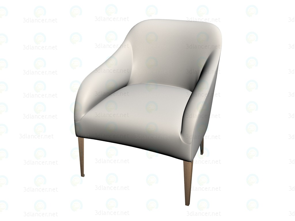 3d modeling Armchair 9755 model free download