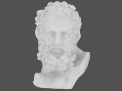 Scultura in marmo Busto di Ercole