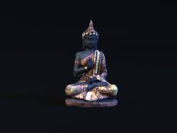 Photogrammétrie-statue-modèle 3D