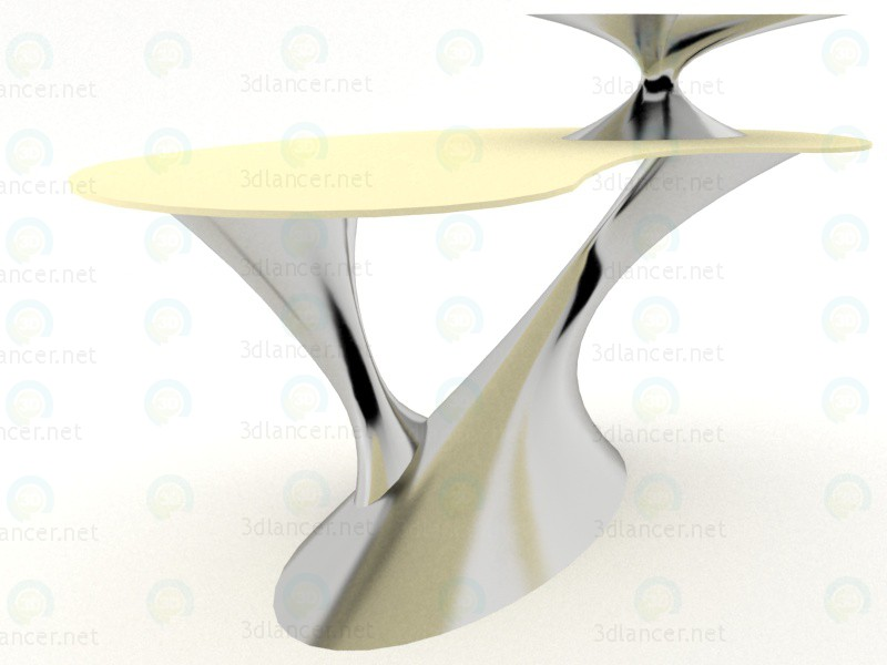 3d Computer table model buy - render