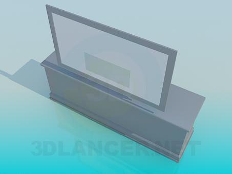 modelo 3D Сommode - escuchar