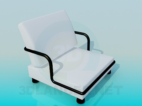 3d modeling Very low armchair model free download