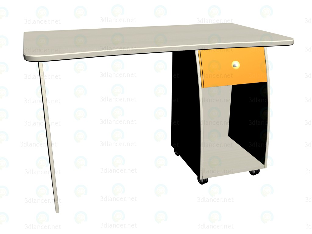 3d model Work table LC-408 - preview