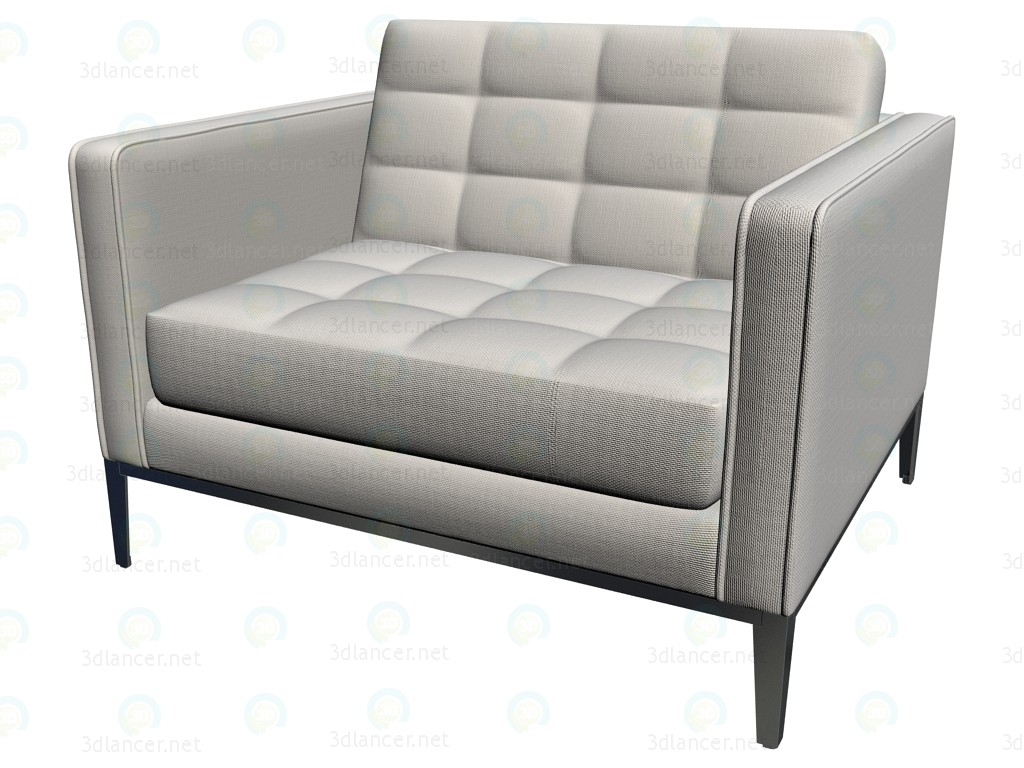 3d model armchair alg104 manufacturer b b italia id 14117