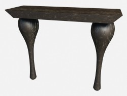 Side table on curly legs Art Deco iPadliacci Z04