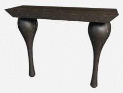 साइड टेबल पर घुंघराले पैर आर्ट डेको iPadliacci Z04