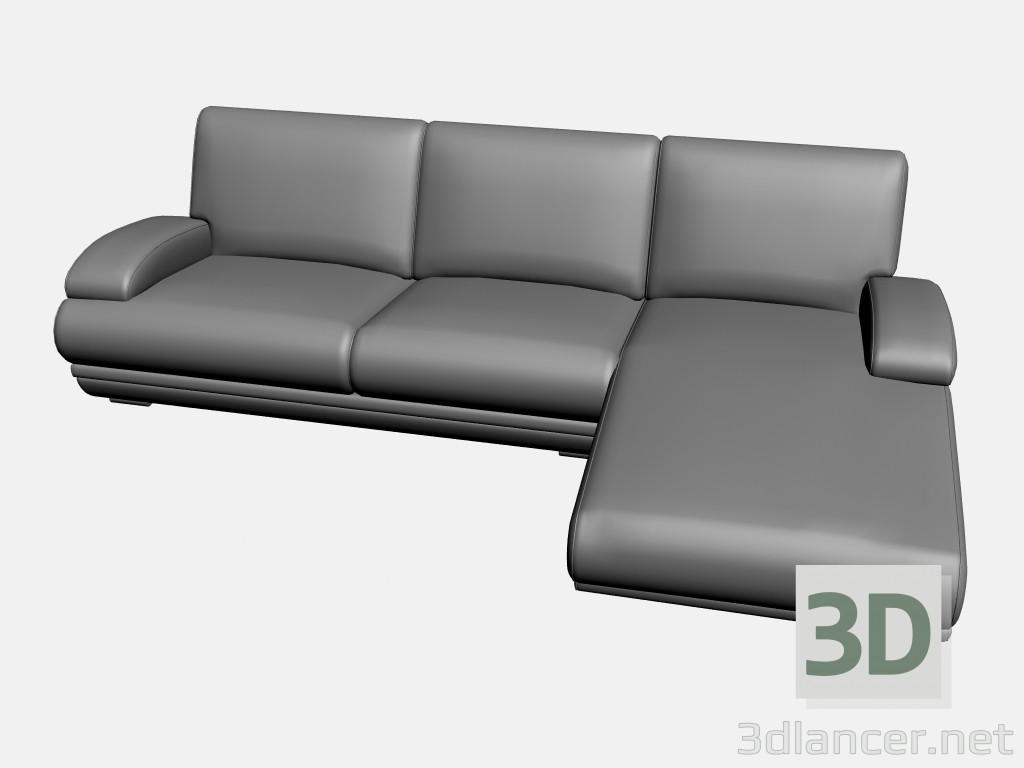 3d modeling Sofa Plimut (option 1) model free download