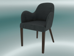 Emily Half Chair (Grigio scuro)