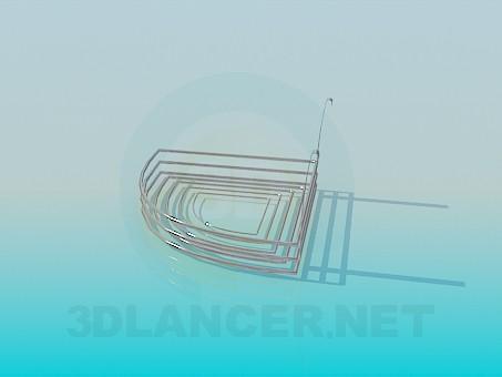 modelo 3D Jabonera metal - escuchar