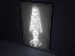 Decorative wall luminaire