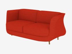 सीधे डबल सोफे