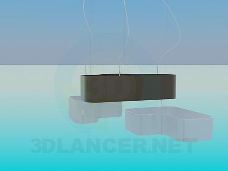 3d model The set of chandeliers - preview