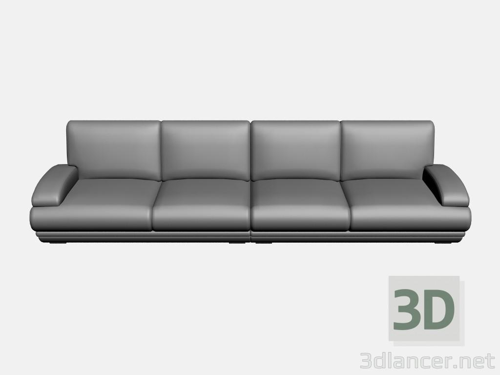 3d model Sofa Plimut (option 2) - preview