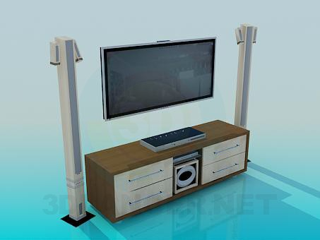 3d model Home Theater - preview