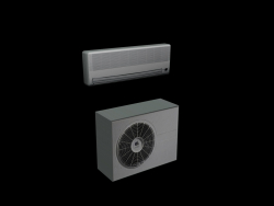 AIR CONDITIONING (EXTERNAL UNIT AND SPLIT)