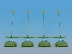Kit di illuminazione per biliardo