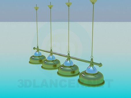 3d model Lighting Kit for billiard - preview