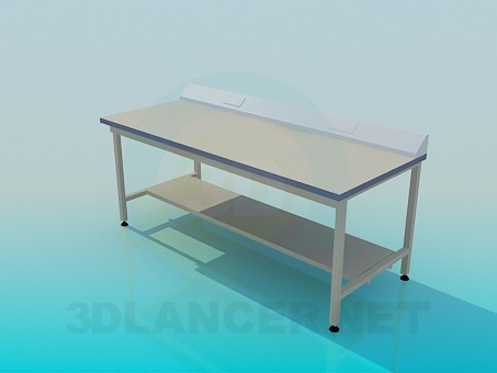 3d model Table for devices - preview