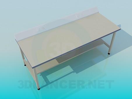 3d модель Стол для приборов – превью