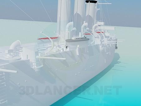3d модель корабль Aurora – превью