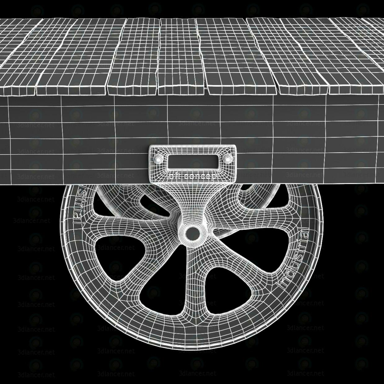 MESA DE CAFÉ CARRITO DE FÁBRICA  3D modelo Compro - render