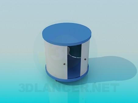 descarga gratuita de 3D modelado modelo El gabinete de la ronda