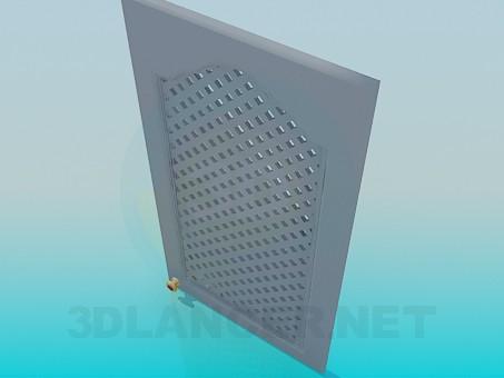 modelo 3D Puerta para el gabinete de cocina - escuchar