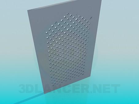 3d модель Дверка от кухонного шкафчика – превью