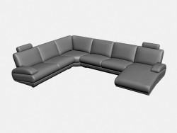 Sofa-Ecke Plimut (Option 2)
