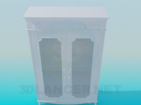 descarga gratuita de 3D modelado modelo Aparador antiguo