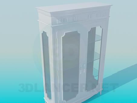 modelo 3D Aparador antiguo - escuchar