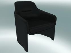 आर्मचेयर AVUS क्लब की कुर्सी (1920-12, काला, चमड़ा फ्लोरिडा 2002 काला)