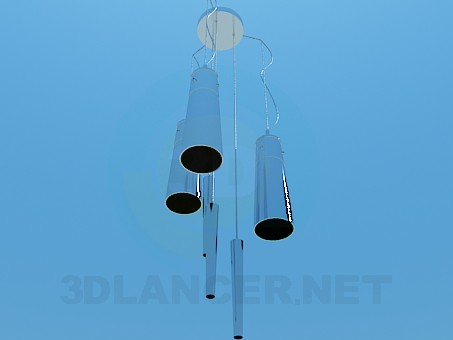 3d model A musical chandelier - preview