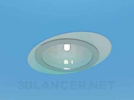 3d modeling Spot Lamp model free download