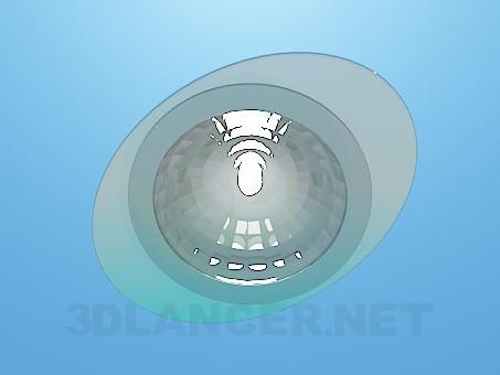 modelo 3D Lámpara del punto - escuchar