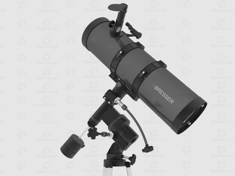 Telescopio Bresser Pollux 150/1400 EQ2 3D modelo Compro - render
