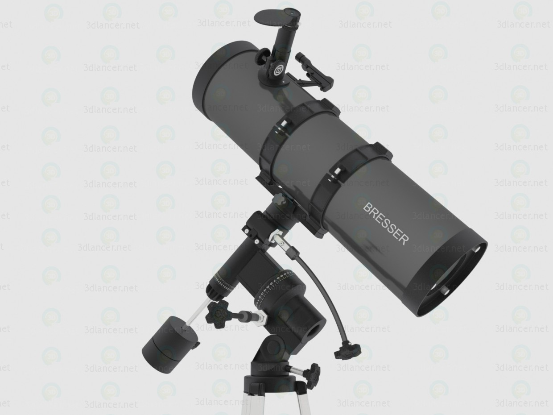 Телескоп Bresser Pollux 150/1400 EQ2 3d модель купить - рендер